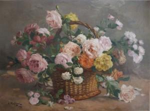 bouquet de fleurs restauré
